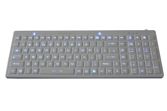 Keyboard K-TEK-M380KP-FN-DT-BL